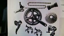 Gruppo bicicletta corsa Shimano 105 11 v. 8 pz   52/36 172,5 11/28 leggi bene