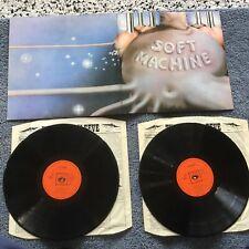 Soft Machine - Six 2LP UK 1973 orange CBS 1ST PRESS + inners