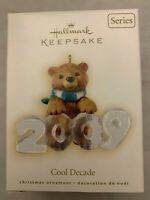 Hallmark Keepsake Ornament Cool Decade 2009 10th in series Christmas Holiday