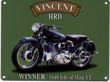 Vincent HRD Motorcycle 1948 Isle of Man TT Bike Fridge Magnet