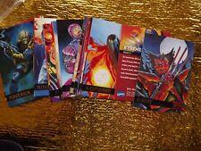 X-treme. X-Men and Marvel 19 94.  54 cards  .Foil lettering .various artists