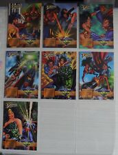 DC OverPower Collectable Cards (Batman/Superman) Fleer SUPERMAN & WONDER WOMAN