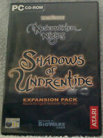NEVERWINTER NIGHTS SHAGOWS OF UNDRENTIDE EXPANSION PACK -  RPG PC GAME