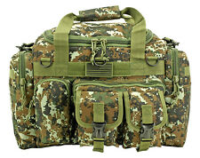 A-10 Tactical Duffle Bag Shooter Operator Go Pack Survival Pilot Bag WOOD DIGI*