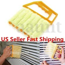 Microfibre Window Air Conditioner Venetian Blind Brush Duster Dirt Clean Cleaner