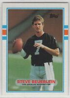 1989 Topps Football Los Angeles Raiders Complete Team Set