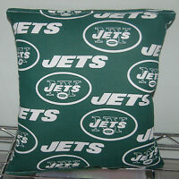 Jets Pillow New York Pillow NY Jets Pillow NFL Handmade In USA