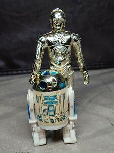 Vintage Star Wars Figures lot - C-3PO, R2-D2