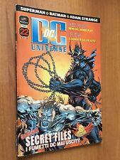 DC UNIVERSE nr 22  PLAY PRESS  SUPERMAN  BATMAN  ADAM STRANGE
