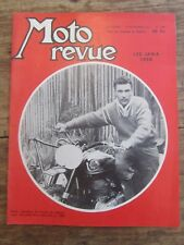 ANCIENNE REVUE MOTO REVUE N° 1367 NOVEMBRE 1957 LES JAWA 1958 PERLIN SIDE CAR