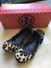 Tory Burch Snow Leopard Shoes Size 6.5, Eu 36.5