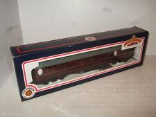 Wagons de marchandises marrons pour modélisme ferroviaire à l'échelle OO