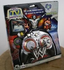 Jakks TV Games World Wrestling, Plug and Play TV video Game System Console New