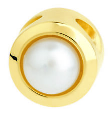 ernstes Design Evia Anhänger AN834 mit perle Edelstahl goldfarben