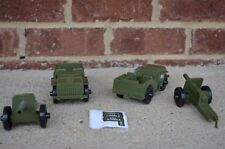 Tim-Mee WWII US Combat Patrol Jeep Vehicle Cannon Howizter Set Toy TimMee