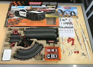 Carrera GO!!! On the Run 1:43 Scale Electric Powered Slot Car Race Track Set