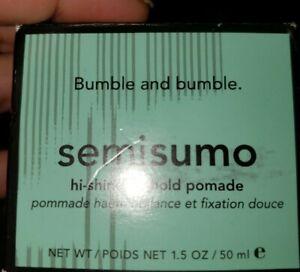 Bumble and Bumble Semisumo Hi-Shine, Lo-Hold Pomade box  1.5oz