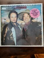 Merle Haggard, Willie Nelson, Pancho & Lefty LP, 1982, Epic,FE37958, VG+, Shrink
