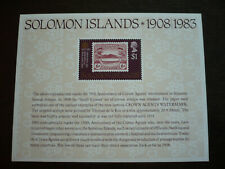 Stamps - Solomon Islands - Scott# 514a - Souvenir Sheet