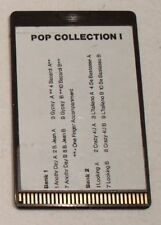 "Wersi Memory Card KF 20 ""POP COLLECTION I"""