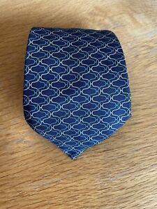 Hermes Mens Silk Tie