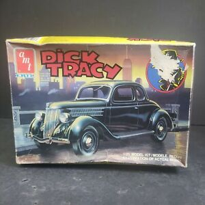 AMT/ERTL 6107 1/25 DICK TRACY FORD COUPE NEW OPEN BOX (1990)