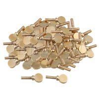 100pcs Soprano Alto Tenor Saxophone Clarinet Neck Screws Tightening Golden