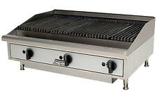"""Toastmaster Tmrc36 Countertop 36"""" Radiant Style Gas Charbroiler"""