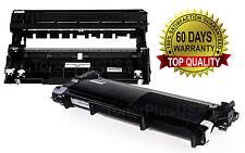 2Pk SET Brother DR630 TN660 630 Drum Unit Toner Compatible HL-2380DW 2360 2320
