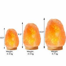 Natural Himalayan Salt Lamp 100% Authentic With Bulb & UK Plug, Pink Salt Lamps