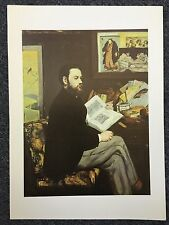 Manet 1978 The Model For... Oil On Canvas Reprint