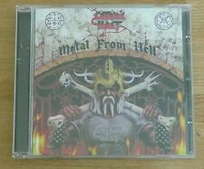 CD Album Promo Heavy Metal  Satan's Host Metal From Hell  Webs Records 14 Tracks
