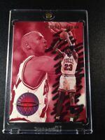MICHAEL JORDAN 1993 FLEER #3 SHARP SHOOTER INSERT CARD CHICAGO BULLS NBA MJ