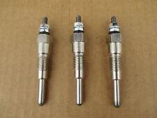 3 Glow Plugs For Kubota B5200 B6100 B6200 B7100 B7200 B8200 B9200 G3200 G4200
