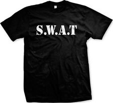 SWAT Halloween Costume Funny Humor Joke Meme Internet Mens T-shirt