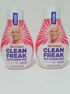Two (2) Mr. Clean Wild Flowers Clean Freak Mist Multi-Surface Spray ⚘