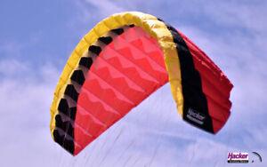 Para-RC Gleitschirm RC FLAIR Gelb Schwarz Rot 67006902 Flair  2.4 Einsteiger