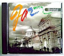 Jazz Montreal  (CD, 1998, Justin Time Records Inc.) Album Contemporary Jazz.