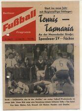 04 05.01.1964 Hertha BSC - FK Voïvodine Novi Sad + TeBe - Tasmanie 1900