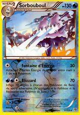 Sorbouboul Reverse 130pv 29//116 Glaciation Plasma Carte Pokemon Rare neuve fr