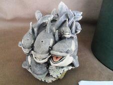 Harmony Kingdom Killing Time Orca Killer Whales Marble Resin Uk Made Mint Mib