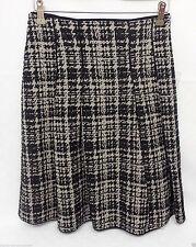 Knielange Damenröcke im A-Linien-Stil aus Wollmischung für die Freizeit