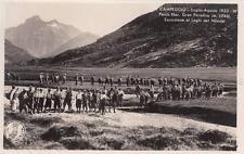 A7125) TCI, CAMPEGGIO 1933 PARCO NAZIONALE GRAN PARADISO, LAGO DEL NIVOLET.