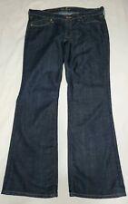 Old Navy Women's The Flirt Jeans Mid Rise Dark Wash Bootcut Size 12 Short