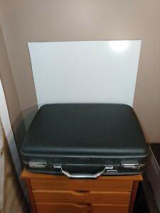 Vintage American Tourister Hard Shell (Tiara) Suitcase BLACK *No Key* unlocked!