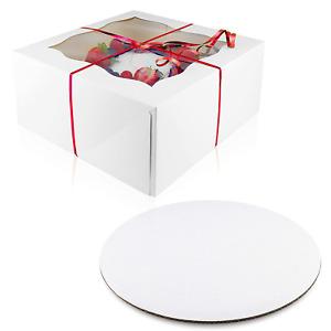 cajas de carton para pasteles tortas pastel 10 caja con bases fiestas regalo