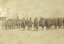 Old Military Postcard RPPC Funeral Service Columbus New Mexico Poncho Villa Raid