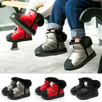Infant Kids Snow Boots Waterproof Toddler Infant Baby Boys Girls Winter Shoes