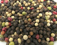 4 Peppercorns Mix Whole Culinary 1 oz Red Green Black White Herb Pepper Quality