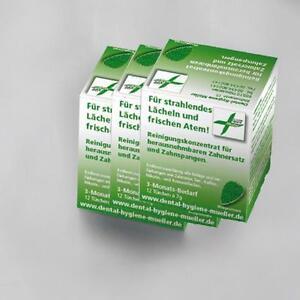 3 x Reinigungskonzentrat Dentalreiniger für Ultraschall Dental Reinigungsgeräte